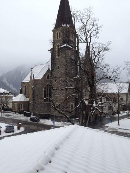 from hotel in Interlaken- church