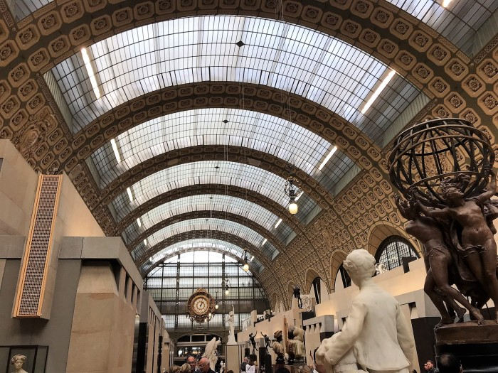 A small bite of Paris: Musee d'Orsay