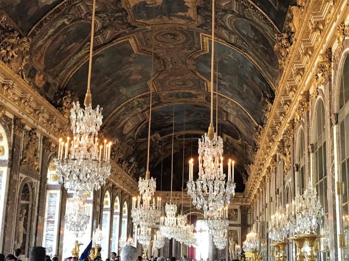 Versailles: one reason the peasants revolted